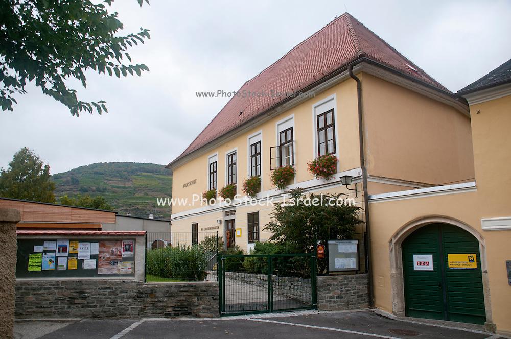 schoolhouse in Onterloben, Durnstein, Wachau Valley, Austria