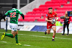Scarlets' Steff Evans in action - Mandatory by-line: Craig Thomas/JMP - 09/12/2017 - RUGBY - Parc y Scarlets - Llanelli, Wales - Scarlets v Benetton Rugby - European Rugby Champions Cup