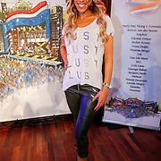 NLD/Hilversum/20130214 - Presentatie artiesten Nederland Muziekland 2013, Glennis Grace