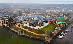 Miniature view of  the historic City Observatory on Calton Hill has opened as The Collective art gallery and will feature the restored City Observatory, City Dome, and a purpose-built exhibition space .