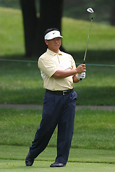 28 June 2005<br /> <br /> K.J. Choi<br /> <br /> Tuesday practice session at the 2005 Cialis Western Open. Dubsdread, Cog Hill Golf Course, Lemont, IL