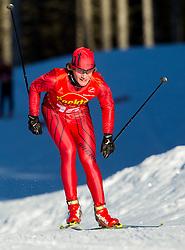 during cross country race for Slovenian National Nordic combined Championship, on January 5, 2011 at Rudno polje, Pokljuka, Slovenia. (Photo by Vid Ponikvar / Sportida.com)