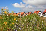 Węgorzewo, 2008-07-10. Osiedle domków jednorodzinnych.