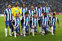 Fotball<br /> Portugal<br /> Foto: imago/Digitalsport<br /> NORWAY ONLY<br /> <br /> 15.04.2009<br /> Mannschaftsfoto Porto, hi. v. li.: Cristian Sapunaru, Torwart Helton, Bruno Alves, Lisandro Lopez, Rolando, Fernando, vorn: Raul Meireles, Lucho Gonzalez, Cristian Rodriguez, Aly Cissokho, Hulk<br /> <br /> Lagbilde Porto
