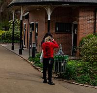 Leamington Spa fourth week of lockdown photo by  Mark Anton Smith
