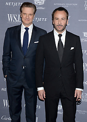 Colin Firth and Tom Ford attending the WSJ Magazine Innovator Awards at Museum of Modern Art in New York City, NY, USA, on November 2, 2016. Photo by Dennis van Tine/ABACAPRESS.COM