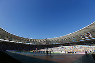 A general view of the Maracana Stadium prior the 2014 FIFA World Cup Final.<br /> Picture by Andrew Tobin/Focus Images Ltd +44 7710 761829<br /> 13/07/2014