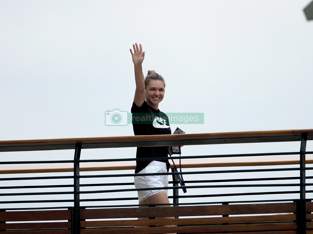 July 13, 2019 - London, UK - Simona Halep at the Women's Singles Final of the Wimbledon Tennis Championships at All England Lawn Tennis and Croquet Club. (Credit Image: © SMG via ZUMA Wire)