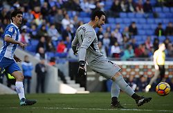January 20, 2018 - Barcelona, Spain - Sergiuo Rico during the La Liga match between RCD Espanyol and Sevilla FC played in the RCDEstadium, in Barcelona, on January 20, 2018. Photo: Joan Valls/Urbanandsport/Nurphoto  (Credit Image: © Joan Valls/NurPhoto via ZUMA Press)