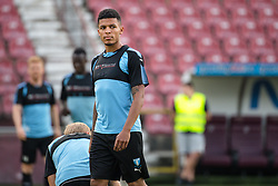 July 23, 2018 - Cluj, Romania - i180723 Romain Gall of MalmÅ¡ FF during a practice ahead the UEFA Champions League qualifying match between Cluj and MalmÅ¡ FF on July 23, 2018 in Cluj..Photo: Ludvig Thunman / BILDBYRN / kod LT / 35508 (Credit Image: © Ludvig Thunman/Bildbyran via ZUMA Press)