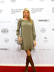 22.01.2016, Kosmos, Berlin, GER, Mercedes Benz Berlin Fashion Week, Herbst Winter 2016, im Bild Giulia Siegel // during the Mercedes Benz Fashion Week Berlin Autumn Winter 2016 in Berlin, Germany on 2016/01/22. EXPA Pictures © 2016, PhotoCredit: EXPA/ Eibner-Pressefoto/ Eibner-Pressefoto<br /> <br /> *****ATTENTION - OUT of GER*****
