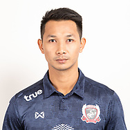 THAILAND - JUNE 07: Tinnakorn Asurin #33 of Suphan Buri FC on June 07, 2019.<br /> .<br /> .<br /> .<br /> (Photo by: Naratip Golf Srisupab/SEALs Sports Images/MB Media Solutions)