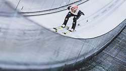 25.02.2021, Oberstdorf, GER, FIS Weltmeisterschaften Ski Nordisch, Oberstdorf 2021, Herren, Skisprung, HS106, Einzelbewerb, Training, im Bild Karl Geiger (GER) // Karl Geiger of Germany during training for the men ski Jumping HS106 single Competition of FIS Nordic Ski World Championships 2021. in Oberstdorf, Germany on 2021/02/25. EXPA Pictures © 2021, PhotoCredit: EXPA/ JFK