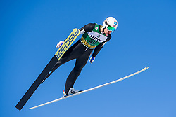 March 2, 2018 - Lahti, FINLAND - 180209 Espen Andersen of Norway during a Ski jumping training session ahead of the FIS Nordic Combined World Cup on March 02, 2018 in Lahti. .Photo: Fredrik Varfjell / BILDBYRÃ…N / kod FV / 150068 (Credit Image: © Fredrik Varfjell/Bildbyran via ZUMA Press)
