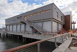 Boathouse at Canal Dock Phase II | State Project #92-570/92-674 Construction Progress Photo Documentation No. 17 on 1 December 2017. Image No. 12 North Elevation