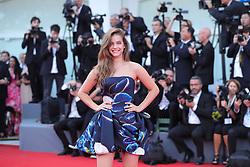 VENICE, Aug. 29, 2018  Actress Barbara Palvin poses on the red carpet of the 75th Venice International Film Festival in Venice, Italy, Aug. 29, 2018. The 75th Venice International Film Festival kicked off here on Wednesday. (Credit Image: © Cheng Tingting/Xinhua via ZUMA Wire)
