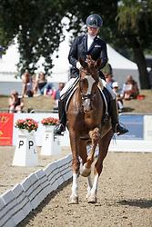 Verreet Katrien, (BEL), Gallartic Biolley<br /> First Qualifier 5 years old horses<br /> World Championship Young Dressage Horses - Verden 2015<br /> © Hippo Foto - Dirk Caremans<br /> 06/08/15