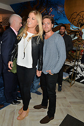 CHELSY DAVY and CHARLES GOODE at a party to celebrate the launch of Baar & Bass, 336 Kings Road, London on 9th September 2014.
