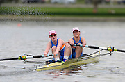 Gent, BELGIUM,    Women's pair W2- , competing in the Women's Quads, at the International Belgian Rowing Championships, Saturday 09/05/2009, [Mandatory Credit. Peter Spurrier/Intersport Images]