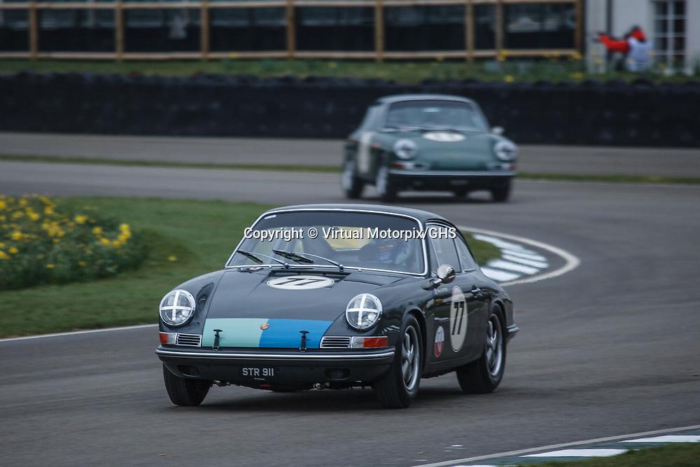 #77, Porsche 911 (1965), confirmed driver: Mark Sumpter at Goodwood 76th Members Meeting, Goodwood Motor Circuit, on 17.03.2018
