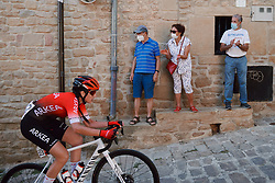 Lucie Jounier (FRA) at the 2020 Clasica Feminas De Navarra, a 122.9 km road race starting and finishing in Pamplona, Spain on July 24, 2020. Photo by Sean Robinson/velofocus.com