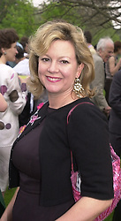MRS CHARLES SAATCHI at a party in London <br /> on 9th May 2000.ODS 29