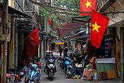 """Hanoi's Old Quarter during """"Tet""""."""