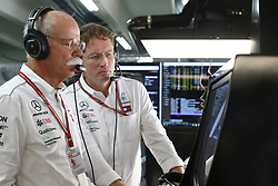 July 22, 2018 - Hockenheim, Germany - Motorsports: FIA Formula One World Championship 2018, Grand Prix of Germany, .Dr. Dieter Zetsche (Chairman of the Board of Management of Daimler AG, Head of Mercedes-Benz Cars), Ola Kaellenius  (Credit Image: © Hoch Zwei via ZUMA Wire)