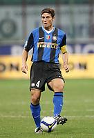 Fotball<br /> Italia<br /> Foto: Inside/Digitalsport<br /> NORWAY ONLY<br /> <br /> Javier Zanetti (Inter)<br /> <br /> 24.09.2008<br /> Serie A<br /> Inter v Lecce (1-0)