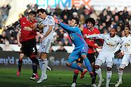 210215 Swansea city v Manchester Utd