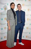 Ella Balinska, Asa Butterfield  at The BAFTA Nominations, London, UK
