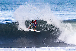 Kanoa Igarashi of Japan advances in 2nd to round 4 from round 3 heat 1 of the Hawaiian Pro at Haleiwa, Oahu, Hawaii, USA