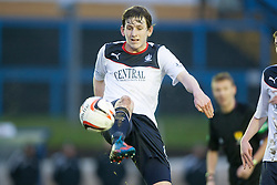 Falkirk's Blair Alston.<br /> Cowdenbeath 0 v 2 Falkirk, Scottish Championship game today at Central Park, the home ground of Cowdenbeath Football Club.<br /> © Michael Schofield.