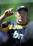 All Blacks coach Mark Hammett. Super 15 rugby union Hurricanes training at Rugby League Park, Wellington, New Zealand on Thursday 27 January 2011. Photo: Dave Lintott / photosport.co.nz