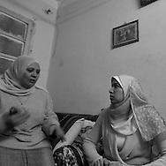 Egypt. Cairo : OUM SALEH family in DARB el AMAR area , islamic Cairo