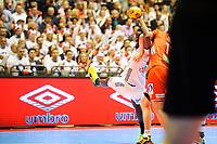 Håndball , EM-Kvalifisering , Kvalifisering til Europamesterskaper i 2018 , Menn<br /> 03.05.17 , 20170503<br /> Norge - Frankrike<br /> Timothey N'guessan - Frankrike<br /> Foto: Sjur Stølen / Digitalsport