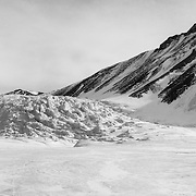 Upper section of the Canada Glacier