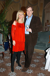 MARK CORNELL of Krug and MARGARITA WENNBERG at a dinner hosted by Krug champagne at Claridge's, Brooke Street, London on 14th February 2006.<br /><br />NON EXCLUSIVE - WORLD RIGHTS