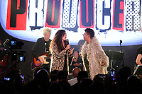 Camila Fernandez and Georgel perform onstage during the 9th Annual BMI & Rebeleon Entertainment's 'Los Producers Charity Concert' held at The Hard Rock Cafe on November 14, 2019 in Las Vegas, Nevada, United States (Photo by JC Olivera for BMI & Rebeleon Entertainment)