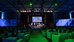 Erick / Loop / OCLA / Bibiana durante o VOX - The Joy of Sharing, evento que  pretende provocar reflexões sobre o futuro da comunicação a partir do compartilhamento de conteúdo e experiências. FOTO: Jefferson Bernardes/ Agência Preview