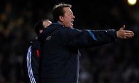 Photo: Alan Crowhurst.<br />West Ham v Liverpool. The Barclays Premiership. 30/01/07. West Ham coach Alan Curbishley