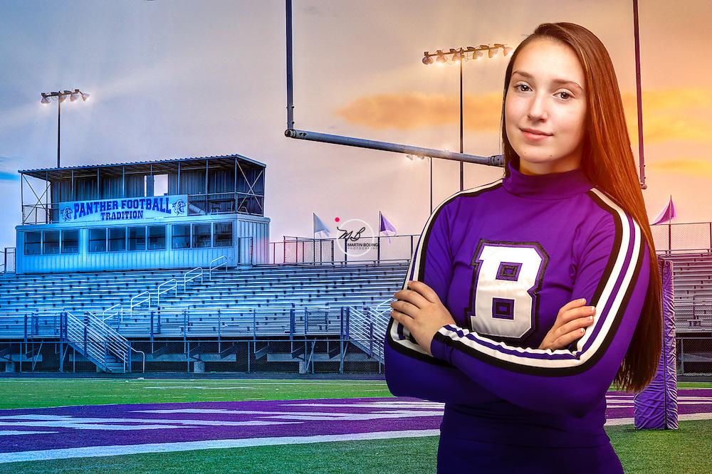 Danielle on the Field