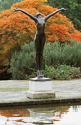 Statue in the Italian garden at Borde Hill