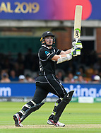 Tom Latham of New Zealand batting during the ICC Cricket World Cup 2019 Final match between New Zealand and England at Lord's Cricket Ground, St John's Wood, United Kingdom on 14 July 2019.