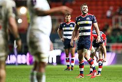 Luke Arscott of Bristol Rugby looks on - Rogan Thomson/JMP - 11/12/2016 - RUGBY UNION - Ashton Gate Stadium - Bristol, England - Bristol Rugby v Pau - European Rugby Challenge Cup.
