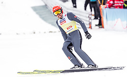 28.02.2019, Seefeld, AUT, FIS Weltmeisterschaften Ski Nordisch, Seefeld 2019, Nordische Kombination, Team Sprung, im Bild Johannes Rydzek (GER) // Johannes Rydzek of Germany during Team Jumping competition for Nordic Combined of FIS Nordic Ski World Championships 2019. Seefeld, Austria on 2019/02/28. EXPA Pictures © 2019, PhotoCredit: EXPA/ JFK