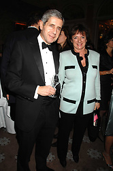SIR STUART ROSE and the HON.ROSA MONCKTON at a party to celebrate the publication of Top Tips For Girls by Kate Reardon held at Claridge's, Brook Street, London on 28th January 2008.<br />