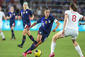 Women's Soccer-England vs USWNT-Mar 5, 2020