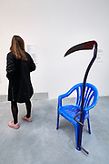 """58th Art Biennale Venice """"May You Live in Interesting Times"""" curated by Ralph Rugoff. Jean-Luc Moulène, France. """"La Faucheuse"""", 2015."""