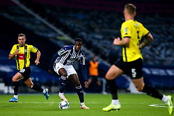 Rekeem Harper of West Bromwich Albion drives forward - Mandatory by-line: Robbie Stephenson/JMP - 16/09/2020 - FOOTBALL - The Hawthorns - West Bromwich, England - West Bromwich Albion v Harrogate Town - Carabao Cup